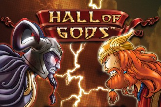 hall of gods progressive jackpot slot netent